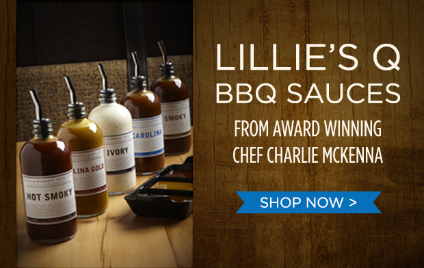 Lillie's Q Sauces from Chef Charlie McKenna