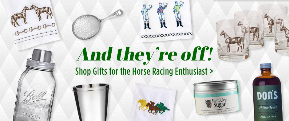 Shop Gifts for the Horse Racing Enthusiast