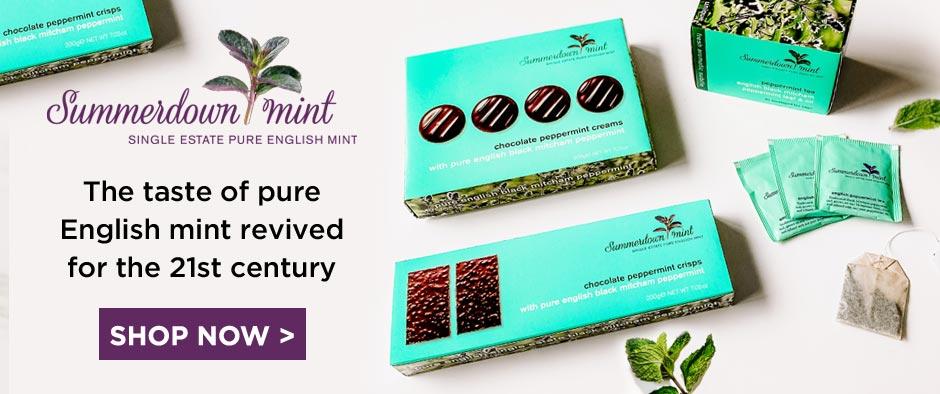 Summerdown Mint Tea & Chocolates
