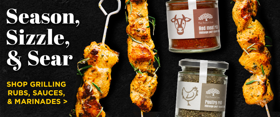 Grilling Sauces, Marinades, and Rubs