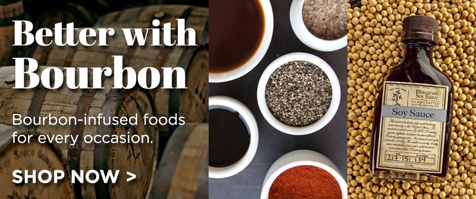 Bourbon infused foods