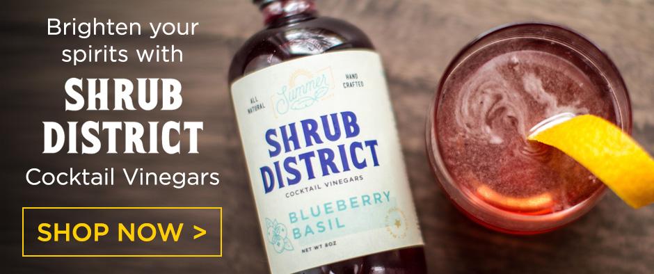 Shrub District Cocktail Vinegars