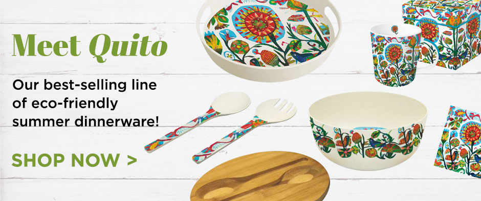 Shop Quito Sustainable Dinnerware