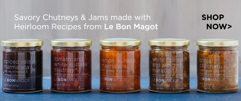 Le Bon Magot savory chutneys and jams