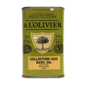 A L'Olivier Basil Infused Olive Oil