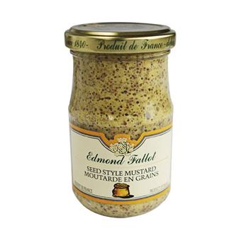Edmond Fallot Seed Style Dijon Mustard
