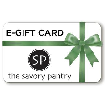The Savory Pantry eGift Card