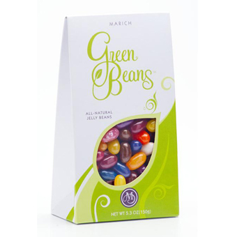 Green Beans All Natural Jelly Beans