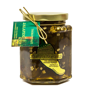Jalapeno Gold Candied Jalapenos