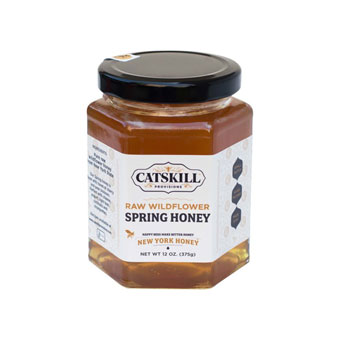 Catskill Provisions Raw Wildflower Spring Honey