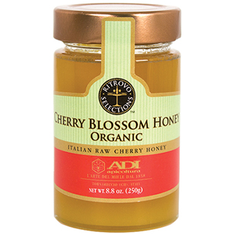 Organic Cherry Blossom Honey