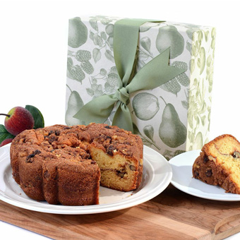 Cinnamon Walnut Coffee Cake Gift Box