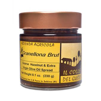 <i>Noccioliva</i> Smooth Hazelnut Chocolate Spread with Extra Virgin Olive Oil