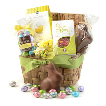 Gourmet easter gifts gift baskets easter gifts under 50 the bunny love easter gift negle Images