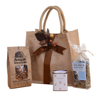 Chocolate for Breakfast Gift Tote