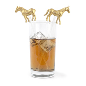 Drink Stirrers in Glass