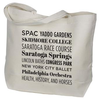 <i>Saratoga Landmarks</i> Wide Essentials Tote
