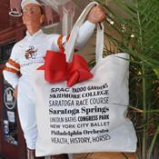 Saratoga Landmarks Tote Gift