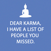 Dear Karma Beverage Napkins