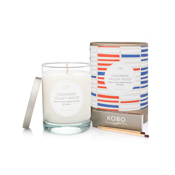 KOBO Cashmere Valley Wood Pure Soy Candle