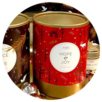 KOBO Hope & Joy Pure Soy Candle