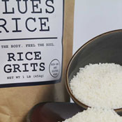 Rice Grits with Bowl
