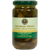 Pitted Taggiasca Olives in Extra Virgin Olive Oil