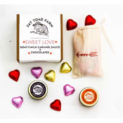 Sweet Love Gift Box Overhead