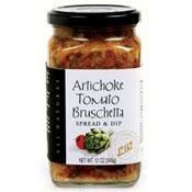 Artichoke Tomato Bruschetta