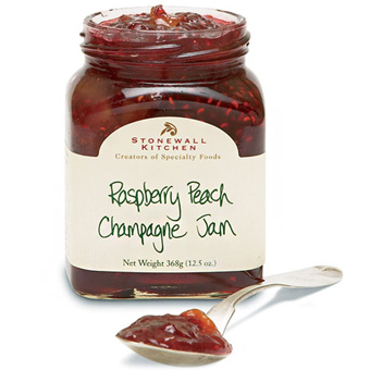 Raspberry Peach Champagne Jam The Savory Pantry