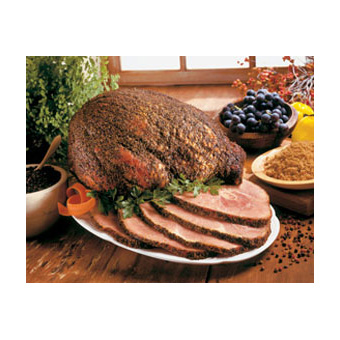 Arkansas Peppered Ham, Whole Bone-In
