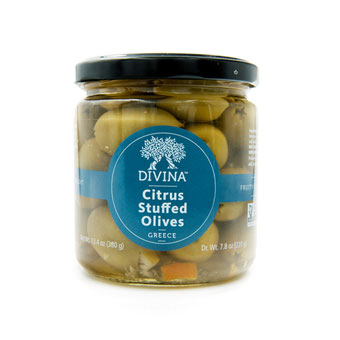 Halkidiki Olives Stuffed with Citrus