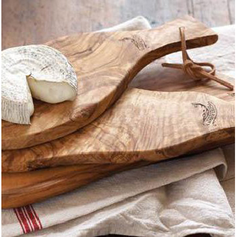 Rustic Olivewood Cheese Board