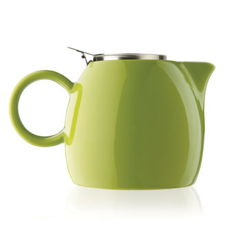 Gifts for the Kitchen - PUGG Ceramic Teapot, Pistachio Green
