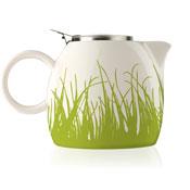 PUGG Ceramic Teapot, Spring Grass