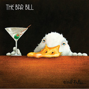 The Bar Bill Beverage Napkins