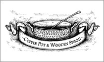 Copper Pot & Wooden Spoon